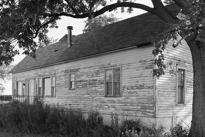 Old rural house near Paris, IL. © 2018 Kenneth R. Sheide