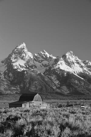 Mormon barn at Grand Teton National Park, WY. © 2013 Kenneth R. Sheide