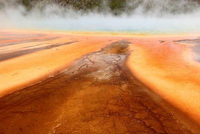 Grand Prismatic Spring, Yellowstone National Park, WY. © 2013 Kenneth R. Sheide