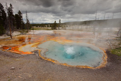 Firehole Spring at Yellowstone National Park, WY. © 2013 Kenneth R. Sheide