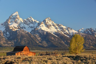 Mormon barn, Grand Teton National Park, WY. © 2013 Kenneth R. Sheide