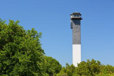 Sullivan's Island Lighthouse, Sullivan's Island, SC. © 2021 Kenneth R. Sheide