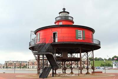 Seven Foot Knoll Lighthouse, Baltimore, MD. © 2012 Kenneth R. Sheide