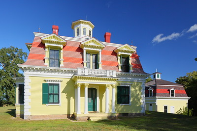 Captain Edward Penniman House completed in 1868. Eastham, MA. © 2021 Kenneth R. Sheide