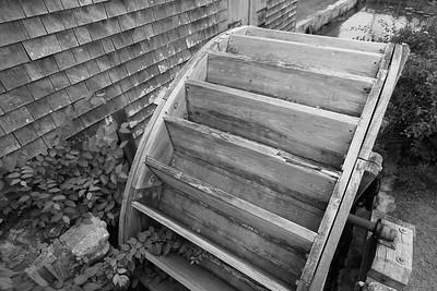 Wheel of Dexter Grist Mill built in 1654. Sandwich, MA. © 2021 Kenneth R. Sheide