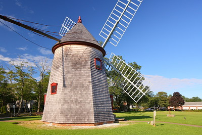 Eastham Windmill, built in 1680 and moved to its current location in 1808. Eastham, MA. © 2021 Kenneth R. Sheide