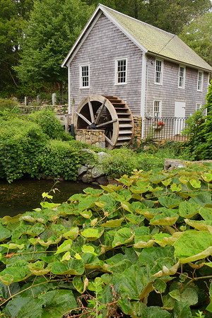 Stony Brook Grist Mill built in 1873. Brewster, MA. © 2021 Kenneth R. Sheide