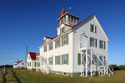 Nauset Coast Guard Station built in 1937. Eastham, MA. © 2021 Kenneth R. Sheide