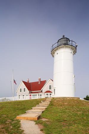 Nobska Lighthouse built in 1876. Falmouth, MA. © 2021 Kenneth R. Sheide