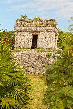 Watch Tower Temple at Tulum, Quintana Roo, Mexico. © 2018 Kenneth R. Sheide