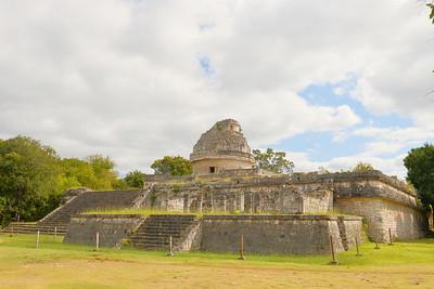 Observatory AKA Caracol/Snail. Chichen Itza, Yucatan, Mexico. © 2018 Kenneth R. Sheide