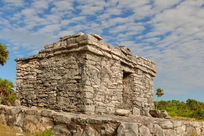 Structure 54 at Tulum, Quintana Roo, Mexico. © 2018 Kenneth R. Sheide