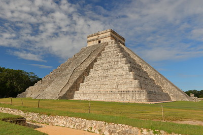 El Castillo AKA Temple of Kukulcan at Chichen Itza, Yucatan, Mexico. © 2018 Kenneth R. Sheide