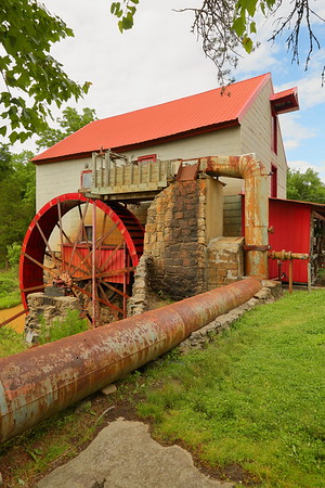 The Old Mill of Guilford near Oak Ridge, NC. You can still purchase a variety of ground grains here! © 2017 Kenneth R. Sheide