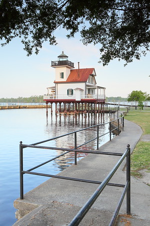 Roanoke River Lighthouse, Edenton, NC. © 2014 Kenneth R. Sheide