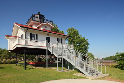 Replica Roanoke River Lighthouse in Plymouth, NC. © 2014 Kenneth R. Sheide