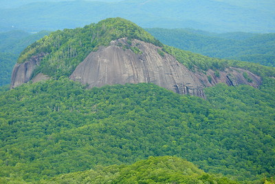 Looking Glass Rock, NC as seen from the Blue Ridge Parkway. © 2017 Kenneth R. Sheide