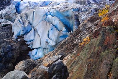 Foot of the Folgefonn Glacier near Buer, Norway. © 2004 Kenneth R. Sheide