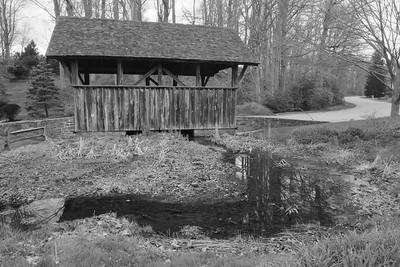 Locksley Covered Bridge, West Chester, PA. © 2014 Kenneth R. Sheide