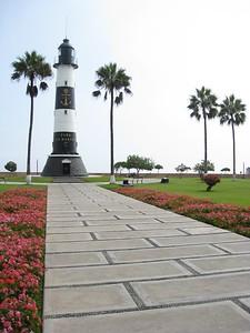 Faro de la Marina, Lima, Peru. © 2012 Kenneth R. Sheide