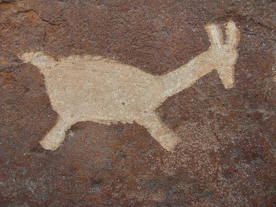 Petroglyph at Miculla, Tacna, Peru. © 2012 Kenneth R. Sheide