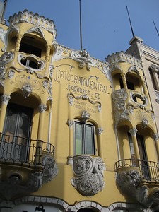 Ornate photographer building in downtown Lima, Peru. © 2012 Kenneth R. Sheide