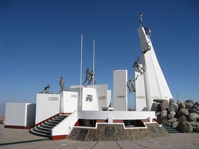 Monument at Alto de la Alianza near Tacna, Peru. © 2011 Kenneth R. Sheide
