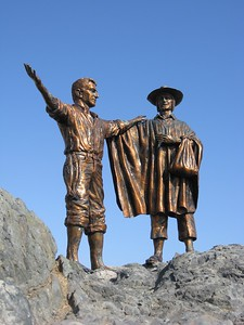 Statue in Ilo, Peru. © 2012 Kenneth R. Sheide