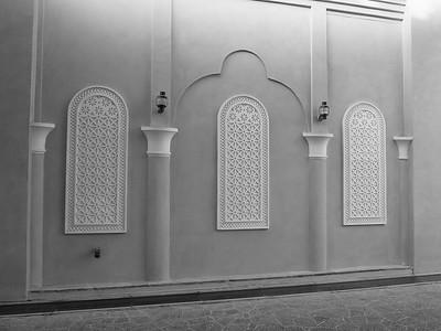 Wall designs, Katara, Doha, Qatar. © 2014 Kenneth R. Sheide