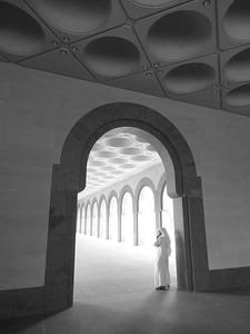 Arch at Museum of Islamic Art, Doha, Qatar. © 2014 Kenneth R. Sheide