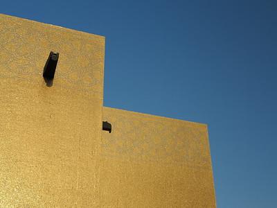 Detail of Golden Masjid, Katara, Doha, Qatar. © 2014 Kenneth R. Sheide
