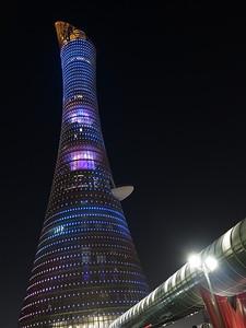 The Torch, Doha, Qatar. © 2014 Kenneth R. Sheide
