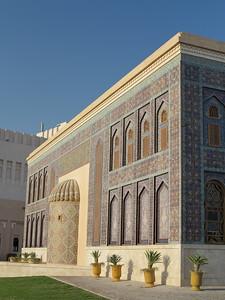 Katara Mosque, Doha, Qatar. © 2014 Kenneth R. Sheide