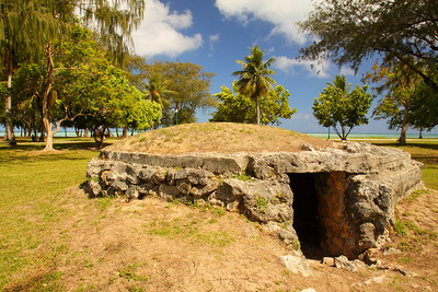 Old bunker in American Memorial Park, Saipan. © 2010 Kenneth R. Sheide