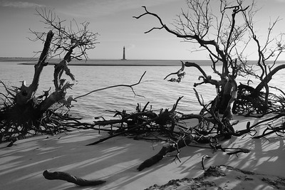 Morris Island Lighthouse, SC. © 2021 Kenneth R. Sheide