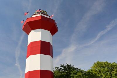 Harbor Town Lightouse, Hilton Head, SC. © 2021 Kenneth R. Sheide