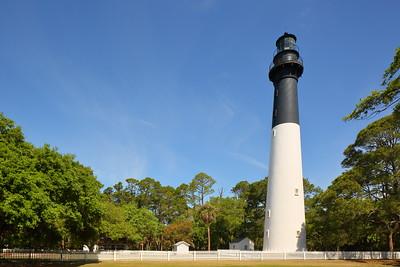 Hunting Island Lighthouse, Hunting Island, SC. © 2021 Kenneth R. Sheide