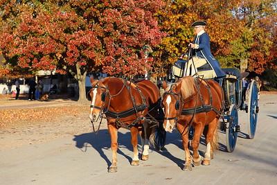 Carriage at Colonial Williamsburg, VA. © 2013 Kenneth R. Sheide