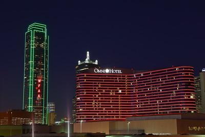 Downtown Dallas, TX at dusk. © 2014 Kenneth R. Sheide