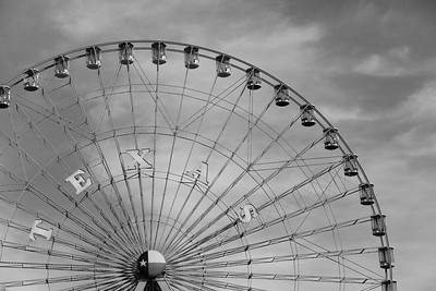 Texas Star ferris wheel, Fair Park, Dallas, TX. © 2014 Kenneth R. Sheide