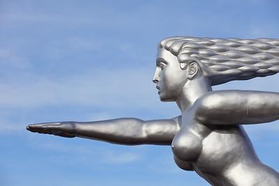 Art Deco sculpture at Fair Park, Dallas, TX. © 2014 Kenneth R. Sheide
