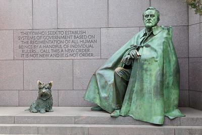 FDR Memorial, Washington DC. © 2014 Kenneth R. Sheide