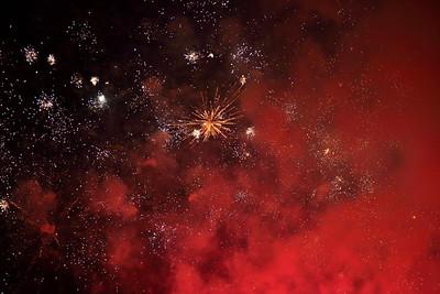 Fireworks in VA. © 2013 Kenneth R. Sheide