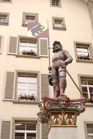 Statue in Berne