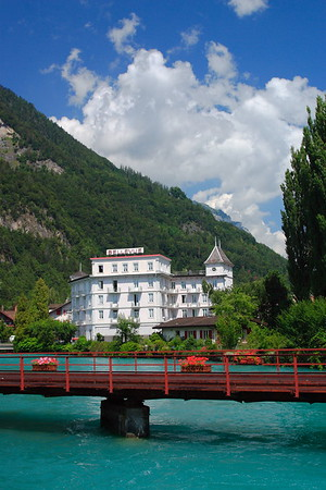 Hotel Bellevue in Interlaken