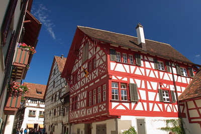 Half-timbered houses in Stein Am Rhein, Switzerland. © 2004 Kenneth R. Sheide