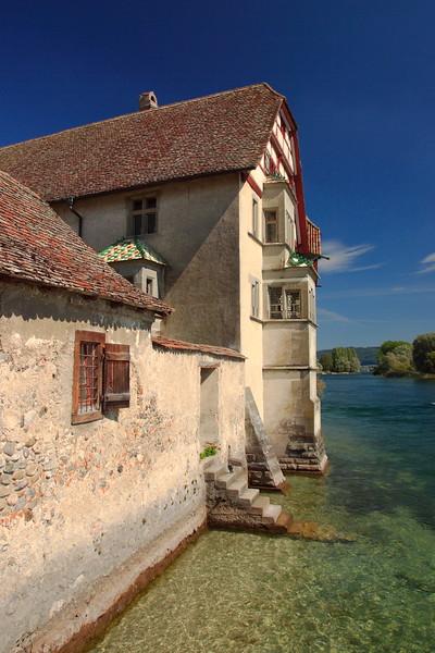 Saint George Monastery, Stein Am Rhein, Switzerland. © 2004 Kenneth R. Sheide