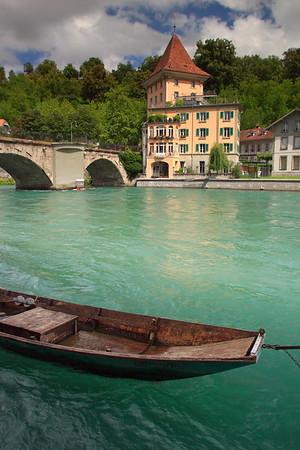 Aare River Scene