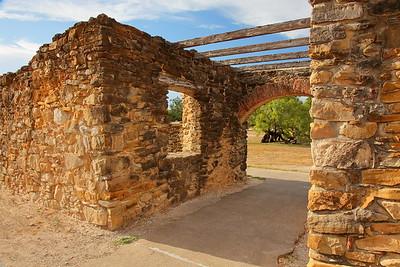 Entrance to Mission Espada, San Antonio, TX. © 2013 Kenneth R. Sheide
