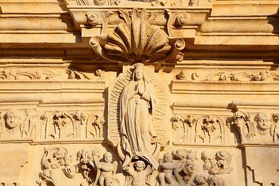 Stonework detail, Mission San Jose, San Antonio, TX. © 2013 Kenneth R. Sheide